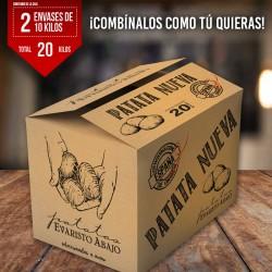 Caja patata nueva de España...