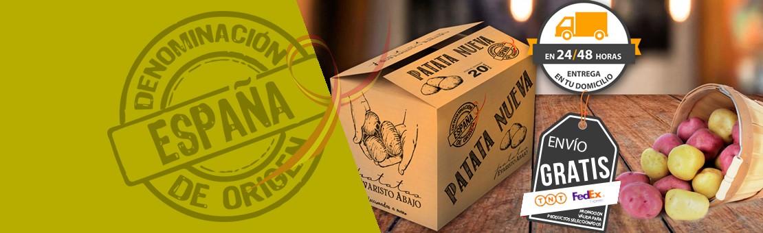 Patata nueva de España